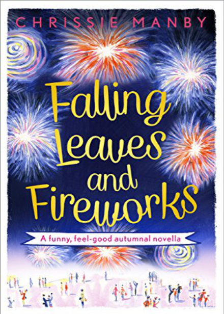 Falling Leaves And Fireworks