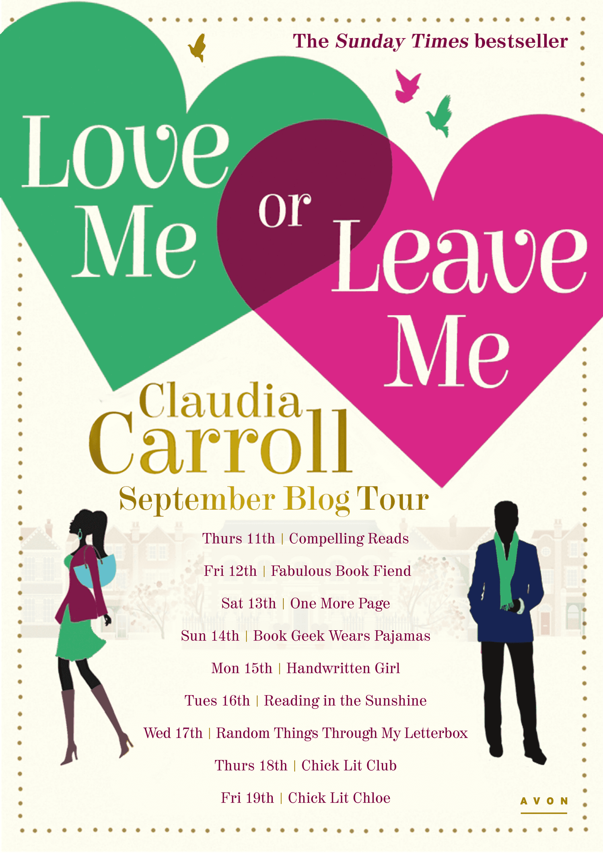 Love Me Or Leave Me Book Tour
