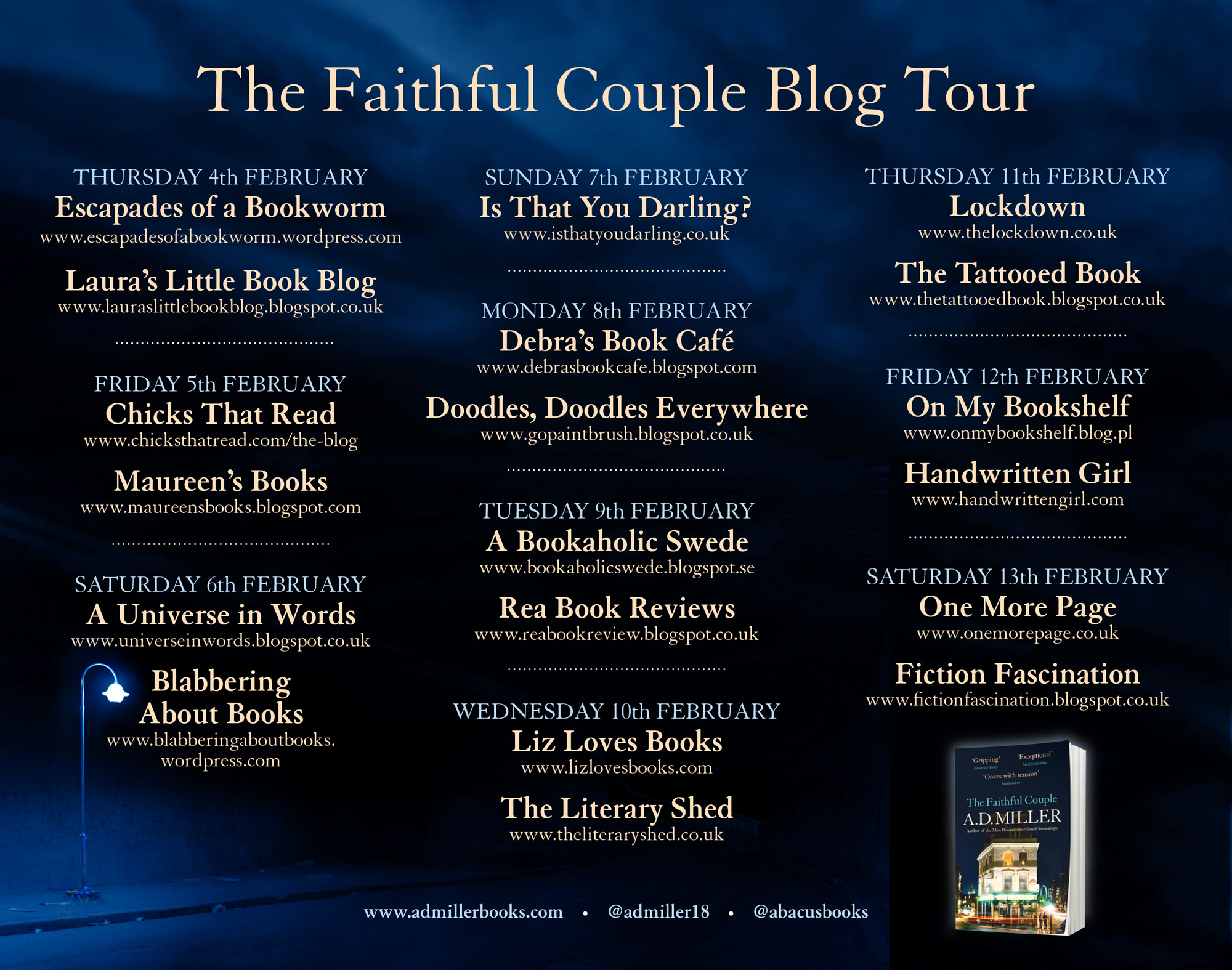 The Faithful Couple Book Tour