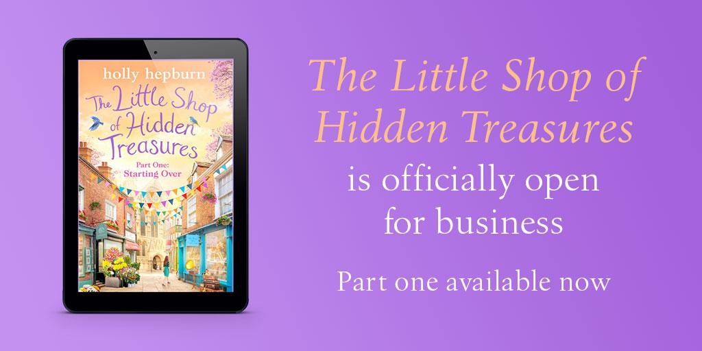 The Little Shop Of Hidden Treasures Banner