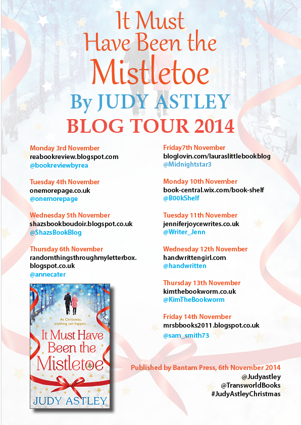 ''It Must Have Been The Mistletoe Book Tour