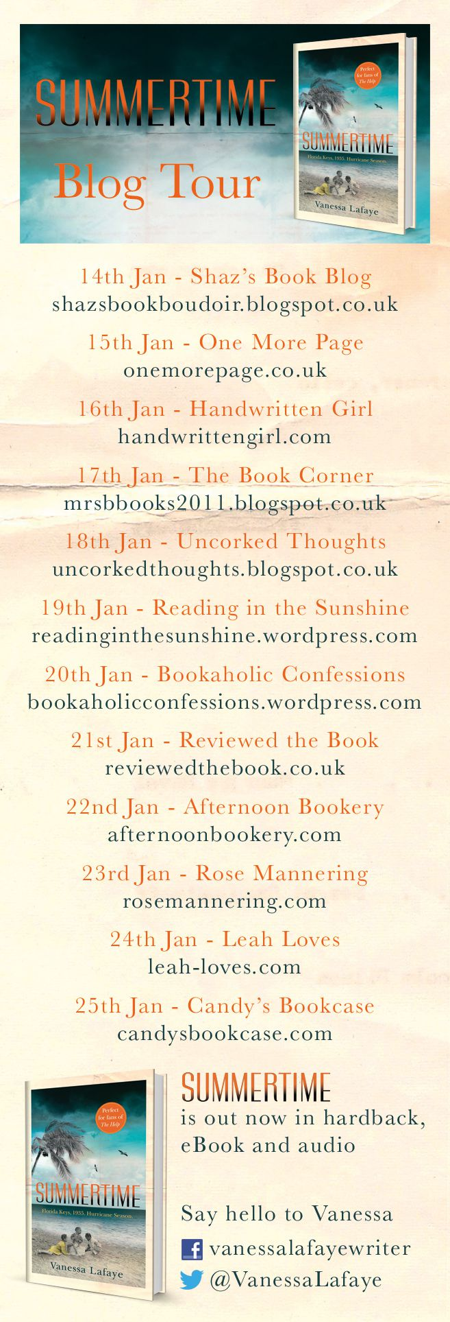 'Summertime Book Tour