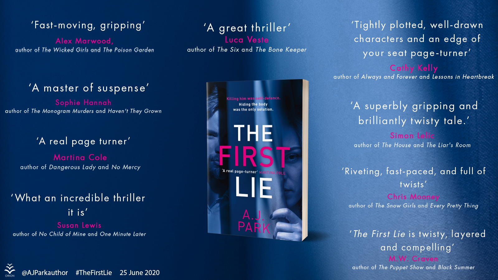 The First Lie Blog Blitz