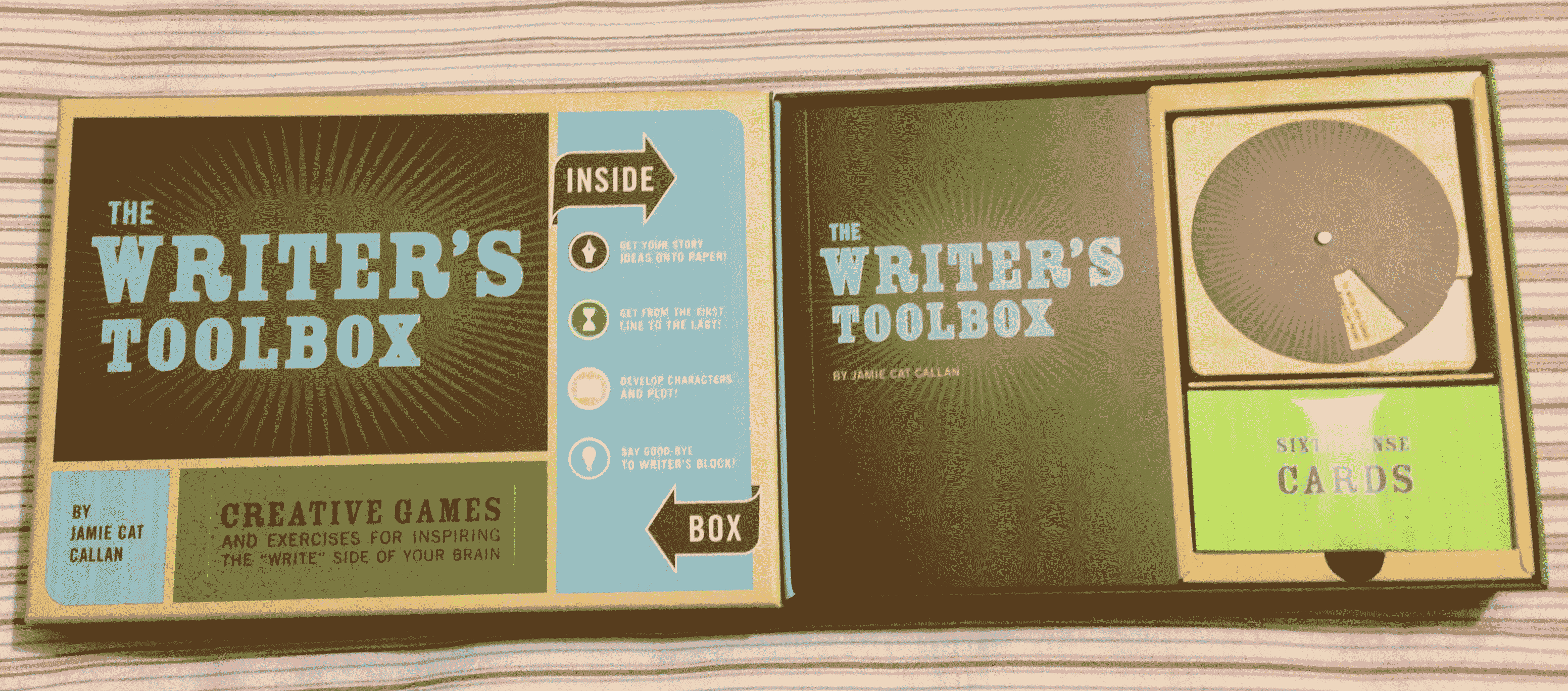 the writers toolbox creative games and exercises for inspiring the write side of your brain